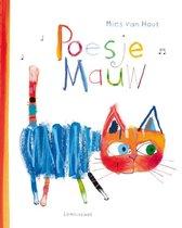 Boek cover Poesje mauw van Mies van Hout (Hardcover)