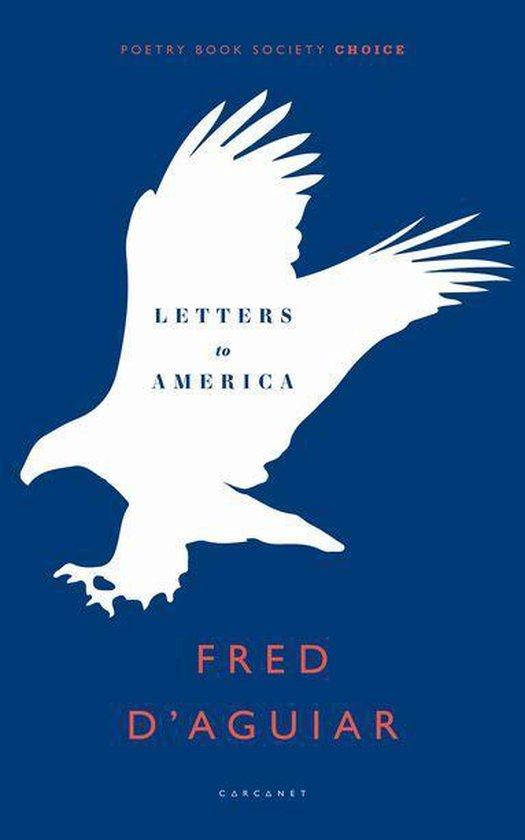Boek cover Letters to America van Fred DAguiar