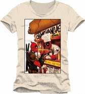 DEADPOOL - T-Shirt Free Chimichangas (S)