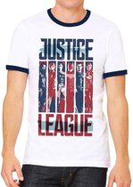 JUSTICE LEAGUE MOVIE - T-Shirt Strips (XXL)