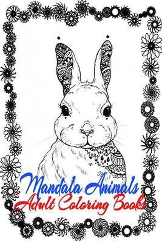 Adult Coloring Books Mandala Animals