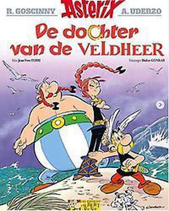 Boek cover Asterix 38. de dochter van de veldheer van Didier Conrad (Paperback)