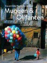 Boek cover Muggen & olifanten van Eva Posthuma de Boer