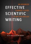 Effective Scientific Writing