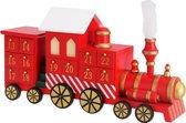 Monzana Adventkalender - locomotief - met - lades