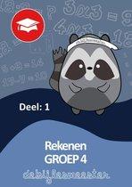 Oefenboeken - De Bijlesmeester - Rekenen - Deel 1- Groep 4 - Cito - Oefenen - Kinderen - Boeken - Leren - School - Kinderen - Oefenschrift - Studeren - Leuke Teksten - Citotoets - LVS geschikt