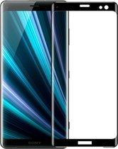 Let op type!! MOFI 9H 3D explosieveilige gebogen scherm getemperd glas Film voor Sony Xperia XZ3 (zwart)