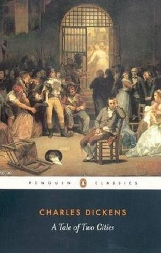 Boek cover A Tale of Two Cities van Charles Dickens (Paperback)