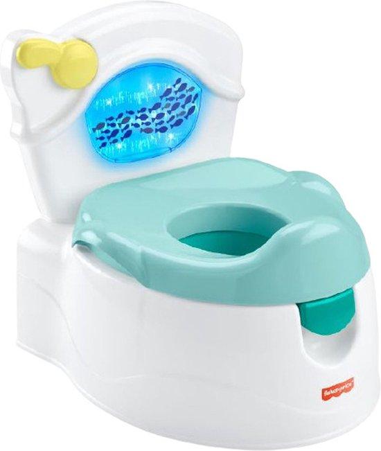 Product: Fisher Price Sea Me Flush met geluid, van het merk Fisher-Price