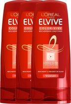 L'Oréal Paris Elvive Color Vive Gekleurd Haar - 3 x 200 ml - Conditioner