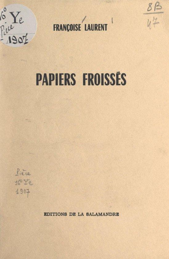Papiers froissés
