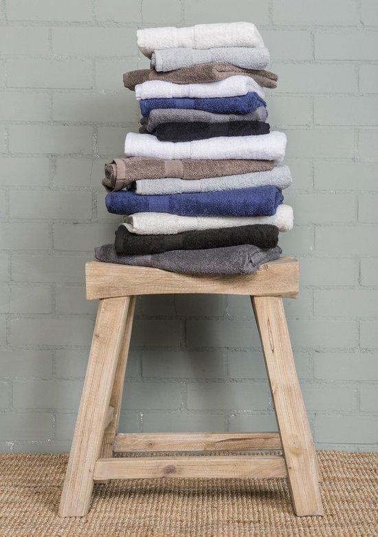 Ambianzz Bedding - 5-Pack Handdoeken - 100% Katoen Badstof - 70x140 cm - Crème - Ambianzz Bedding