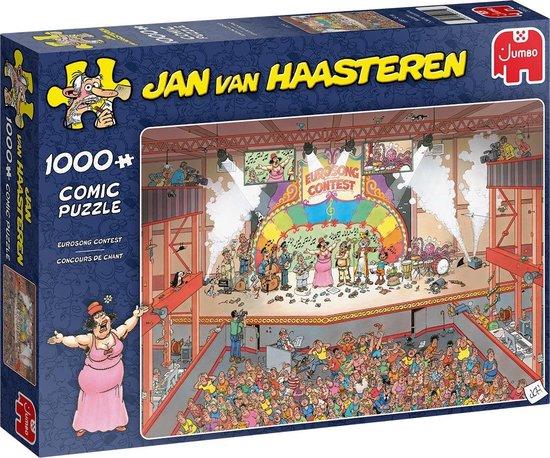 Afbeelding van Jan van Haasteren Eurovisie Songfestival Puzzel 1000 stukjes