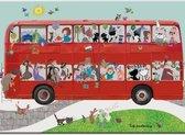 Placemat: Bus, Fiep Westendorp