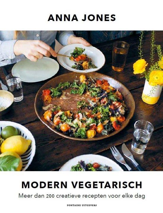 Boek cover Modern vegetarisch van Anna Jones (Paperback)