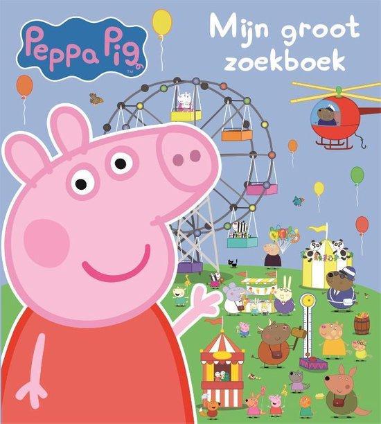 Boek cover Peppa Pig - Mijn groot zoekboek van Diverse auteurs (Hardcover)