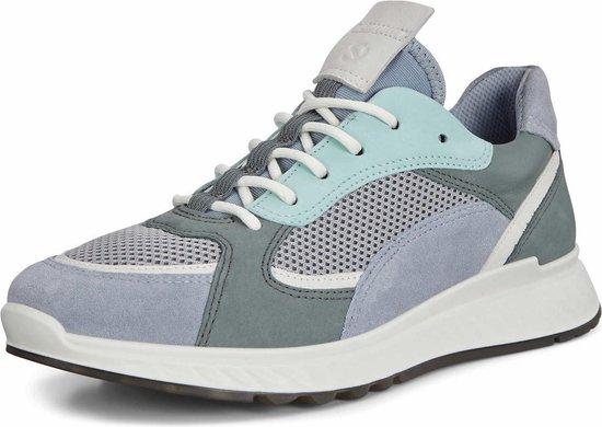 Ecco St.1 Dames Sneaker - Blauw Maat 36 rDQ2xP