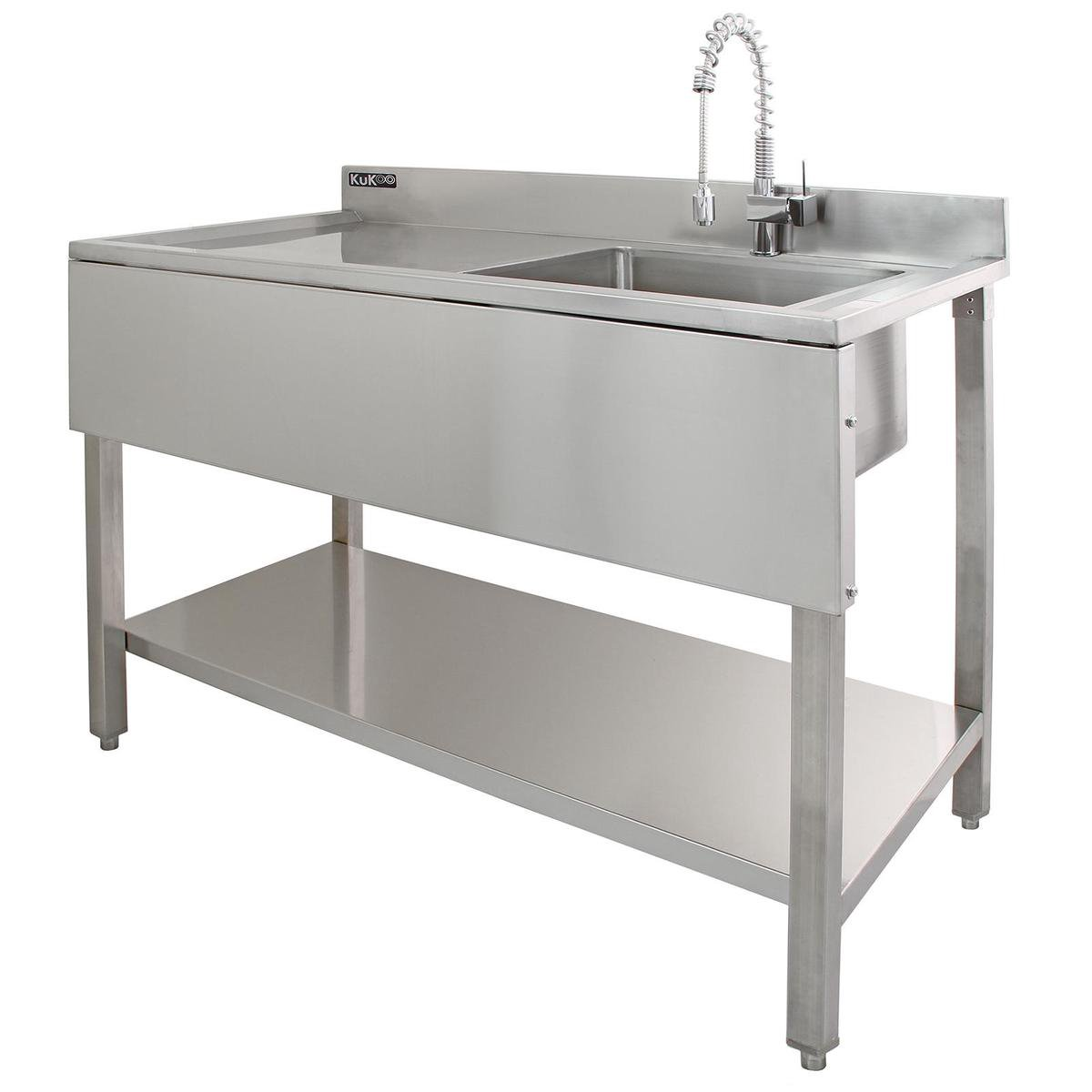 Kukoo Commercial Stainless Steel Sink