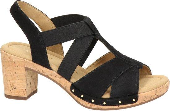 Gabor Dames Sandaal - Zwart Maat 38 LvjpVX