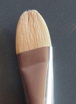 Arcana olie- acrylverfpenseel ovaal/kattentong serie 1035 nr 22 varkenshaar/bristle