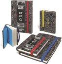 Arbos Notitieboek Blanco A6 Gerecycled Papier Rood