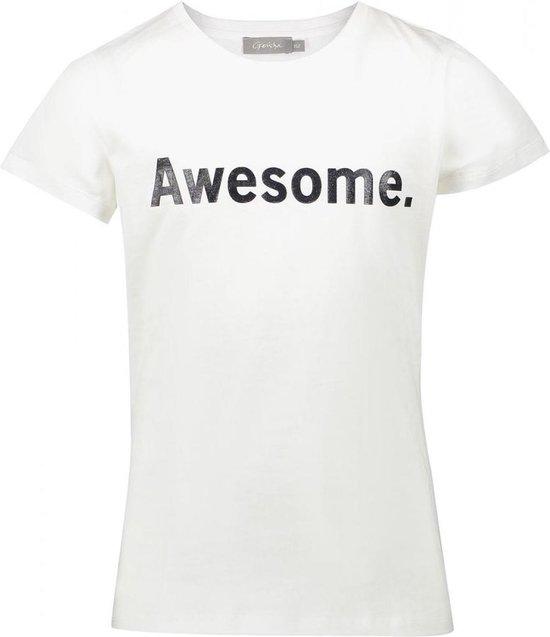 Geisha Meisjes t-shirts & polos Geisha  T-shirt awesome offwhite 164
