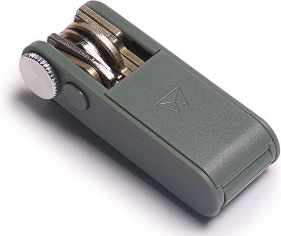 Walter Wallet Keyboss Grijs - Duurzaam ABS Plastic - Sleutelhouder - Key Boss