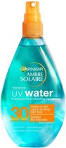Garnier Ambre Solaire UV Water SPF 30 Zonnebrandspray - 150 ml - Transparante Spray