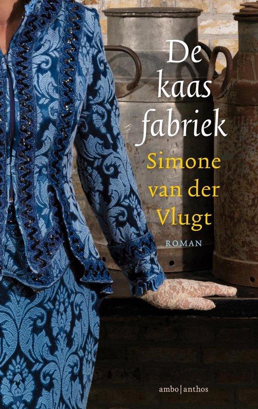 Boek cover De kaasfabriek van Simone van der Vlugt (Hardcover)