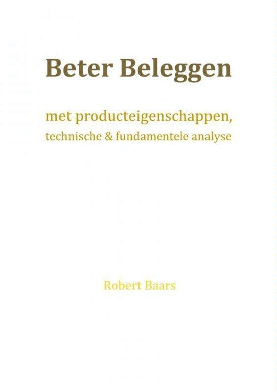 Beter beleggen - Robert Baars |