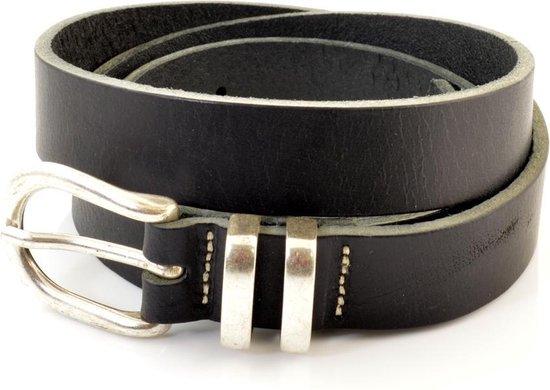 Cowboysbelt Dames Broekriem Zwart 85 cm - Cowboysbelt