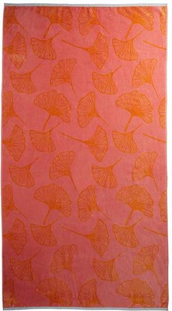 KAAT Amsterdam Burnt Sky - Strandlaken - 100x180 cm - Pink