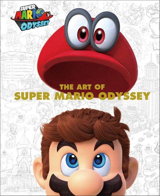 Boek cover The Art Of Super Mario Odyssey van Merkloos (Hardcover)