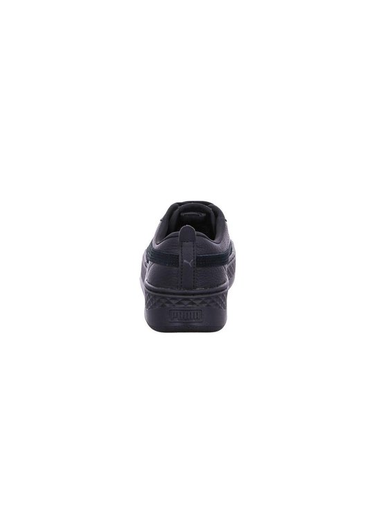 PUMA Smash Platform L Sneakers Dames - Puma Black-Puma Black - Maat 39 - PUMA