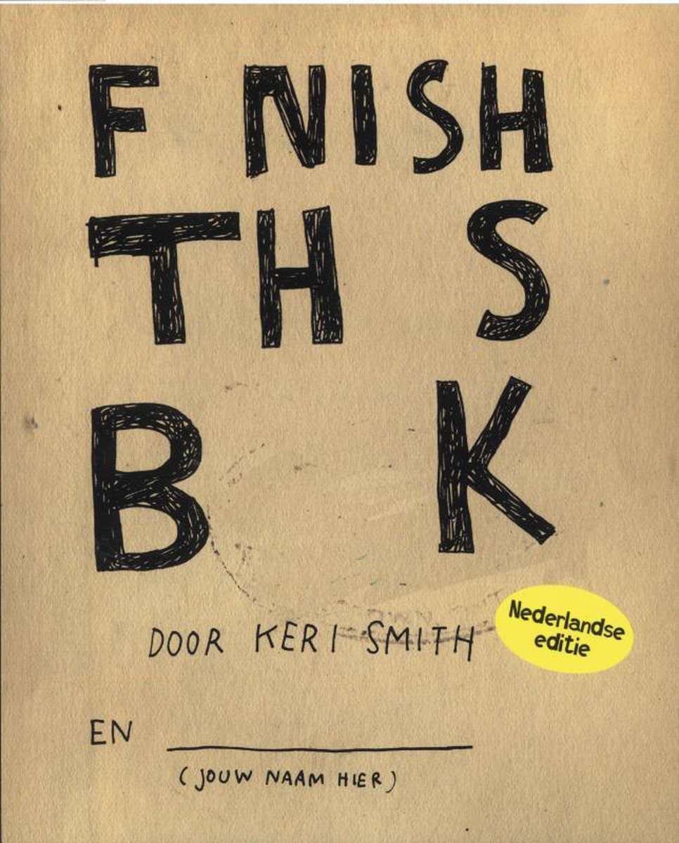 Finish this book - Keri Smith