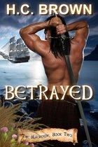 Boek cover Betrayed van H.C. Brown