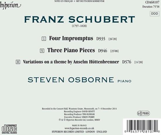 Impromptus Piano Pieces
