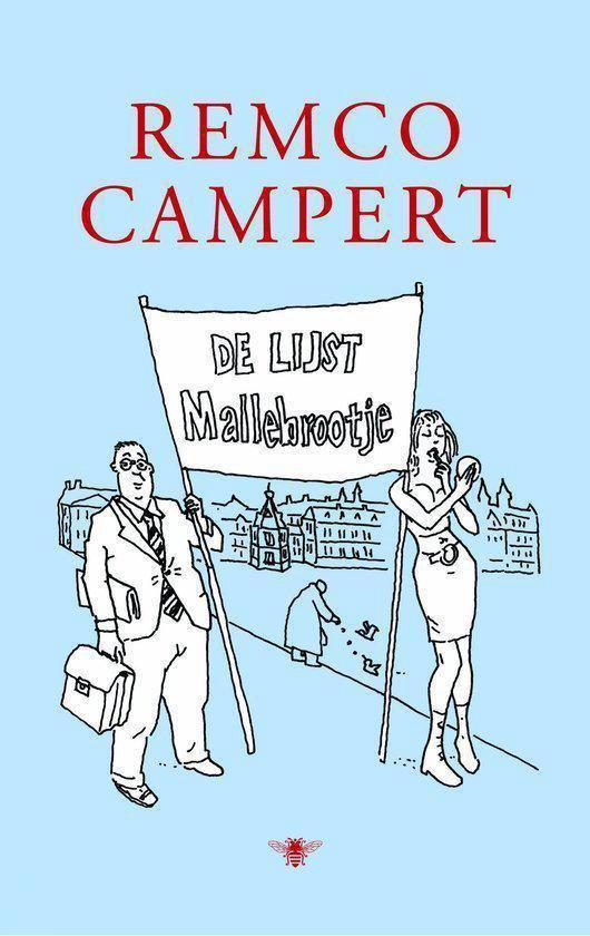 Cover van het boek 'De lijst Mallebrootje' van Remco Campert