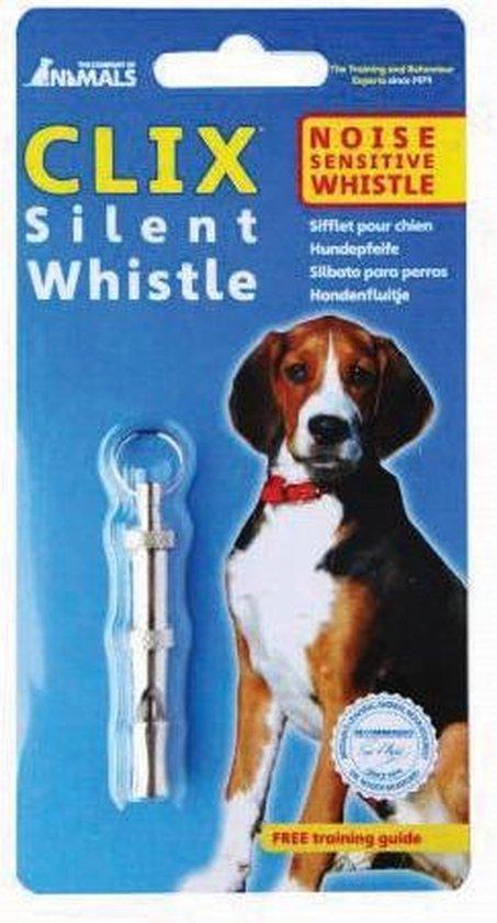 Clix - Silent Whistle - Fluittraining - Toonhoogte Instelbaar - 5,9 x 1 cm