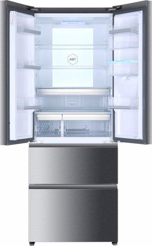 Koelkast: Haier B3FE742CMJW - Amerikaanse koelkast, van het merk Haier