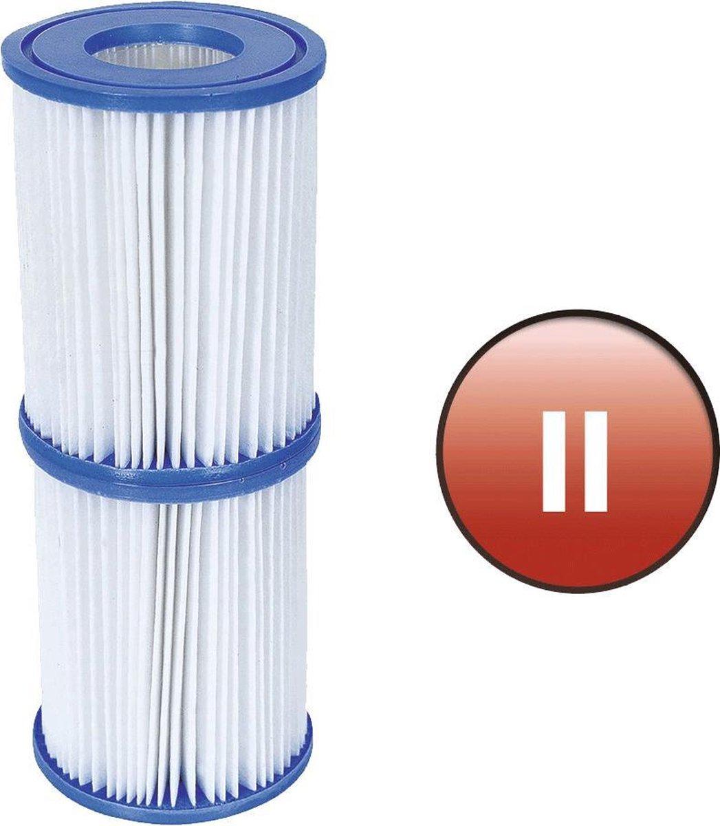 Bestway -Filter Cartridges - Zwembadfilter Type II - 2 stuks - nr. 58094