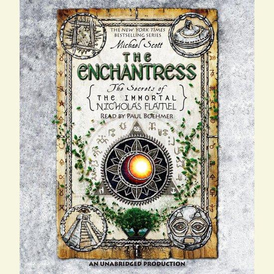 Boek cover The Enchantress van Michael Scott (Onbekend)