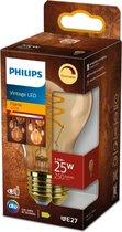 Philips Glas LED Spiral Lichtbron - Fitting E27 - Dimbaar