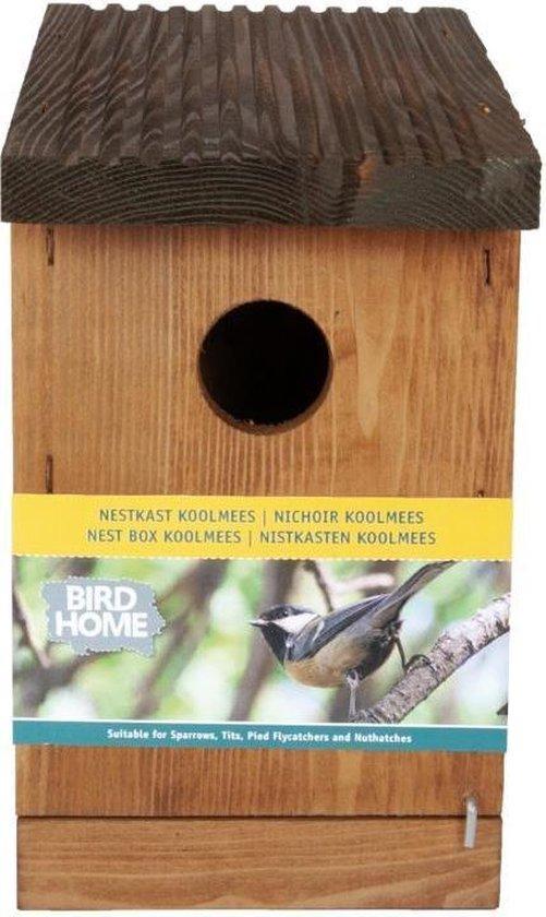 Bird Home Nestkast (geschikt voor vele soorten vogels) met wisselend frontplaatje.