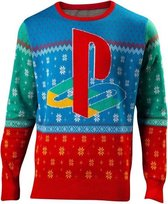Difuzed Playstation Kersttrui Maat XXL - Multi - Carnavalskleding