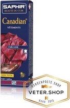 Saphir Canadian - Herstellende, voedende kleur creme voor glad leer - Saphir 046 Petroleum