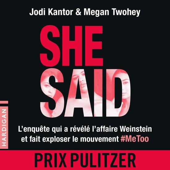 Boek cover She Said : Les dessous de lenquête qui a révélé laffaire Weinstein van Jodi Kantor (Onbekend)