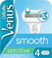 Gillette Venus Smooth Senstive Scheermesjes 4 stuks