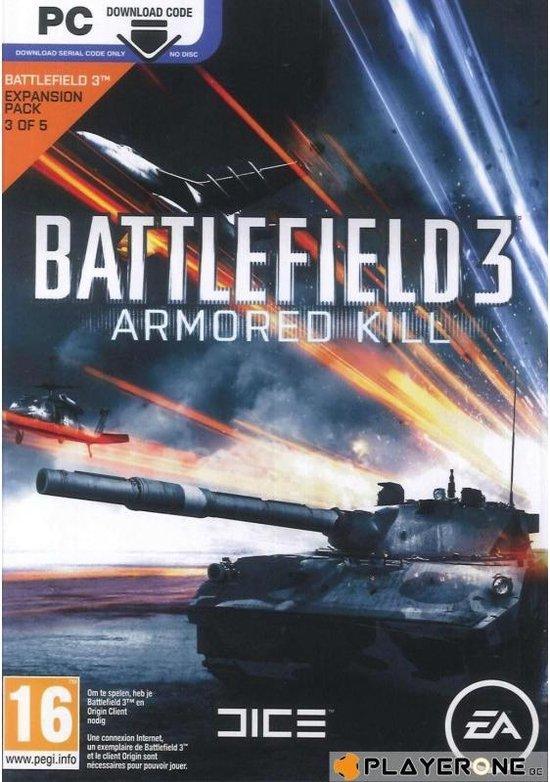 Battlefield 3: Armored Kill – Code In A Box – Windows
