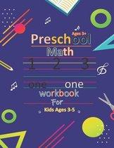 Preschool Math Workbook For Kids 3-5